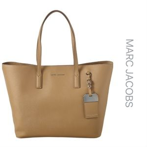 NWT Marc Jacobs Luggage Tag Leather Tote